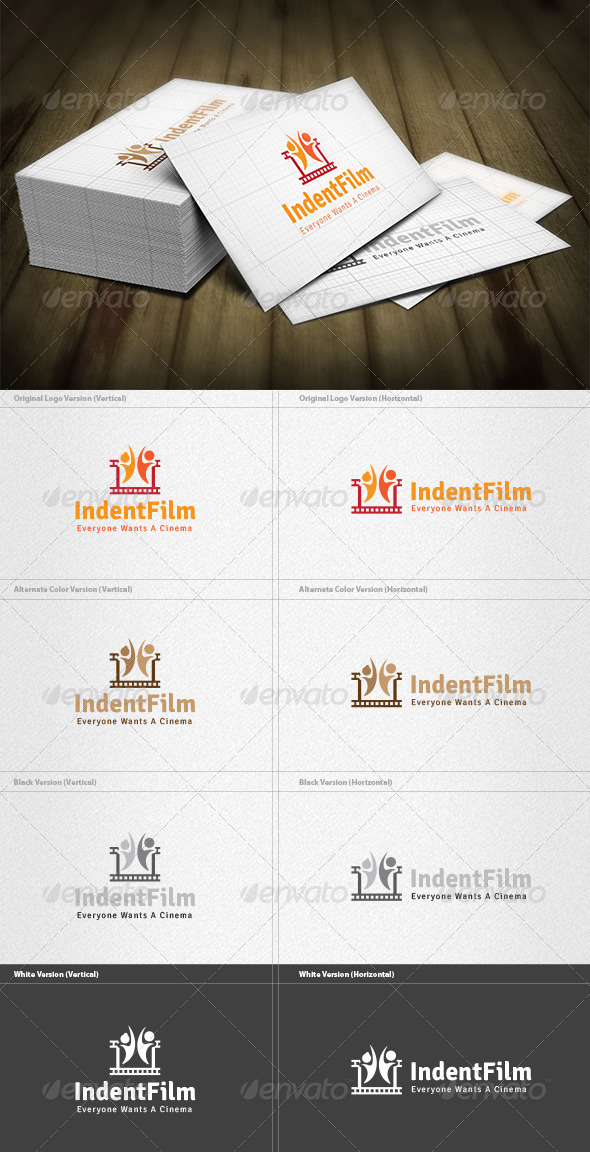 GraphicRiver Independent Film Logo 5979929