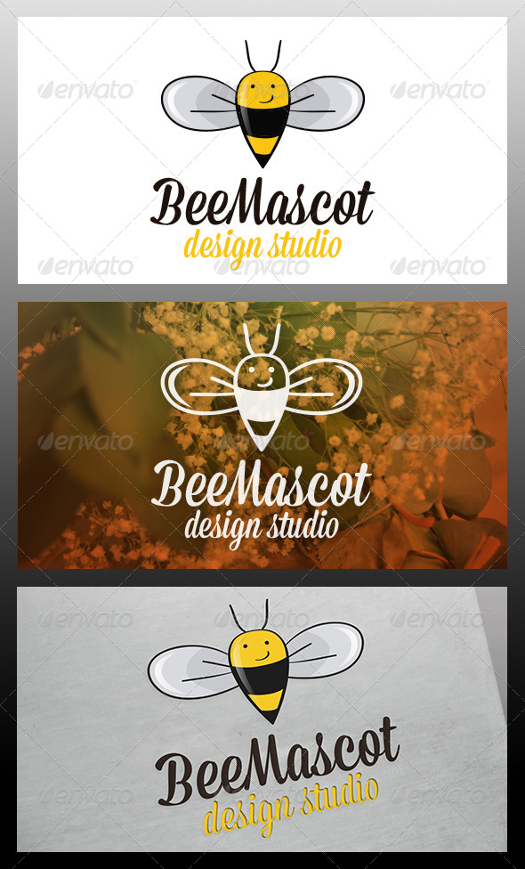 GraphicRiver Bee Logo Template 5980729