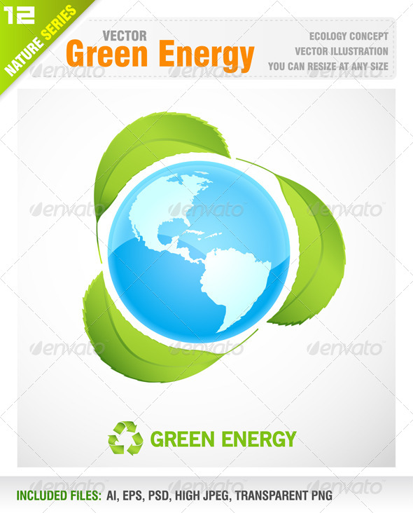 GraphicRiver Green Energy 5981632