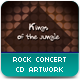 Rock Concert CD Artwork - GraphicRiver Item for Sale