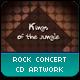 Rock Concert CD Artwork - GraphicRiver Item for Sale