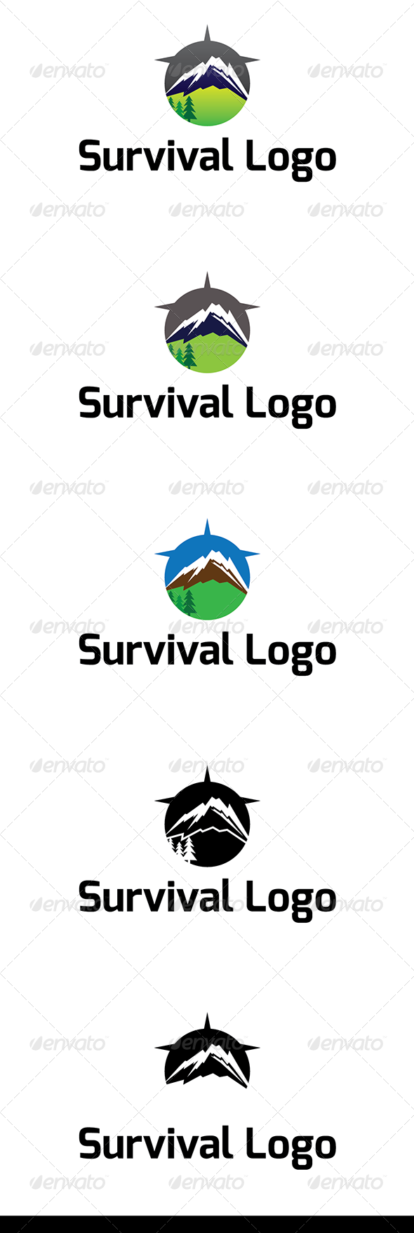 GraphicRiver Survival Logo 5982222