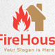Fire House Logo - GraphicRiver Item for Sale