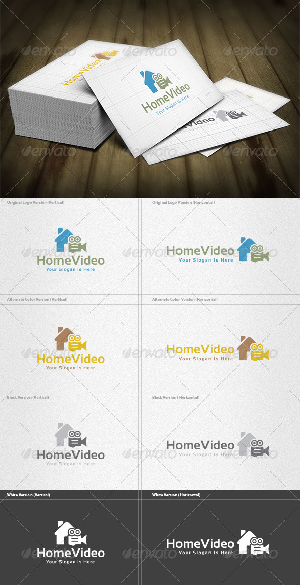 GraphicRiver Home Video Logo 5982362