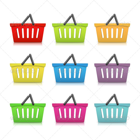 GraphicRiver Shopping Baskets 5982732