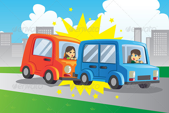 GraphicRiver Car Accident 5983265