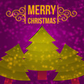 Violet Christmas Card Background - PhotoDune Item for Sale