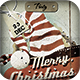 Vintage Christmas Card & Invite - GraphicRiver Item for Sale