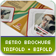 Retro Brochure - GraphicRiver Item for Sale
