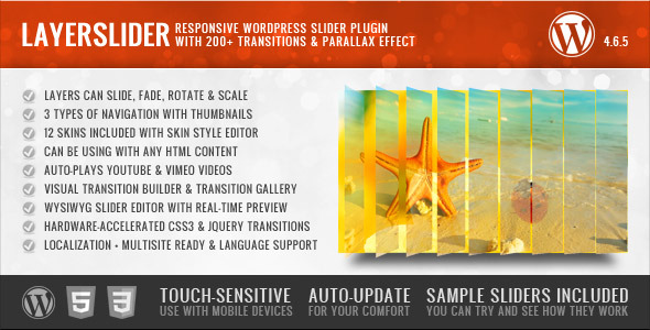 LayerSlider v4.6.5 CodeCanyon Responsive WordPress Slider Plugin