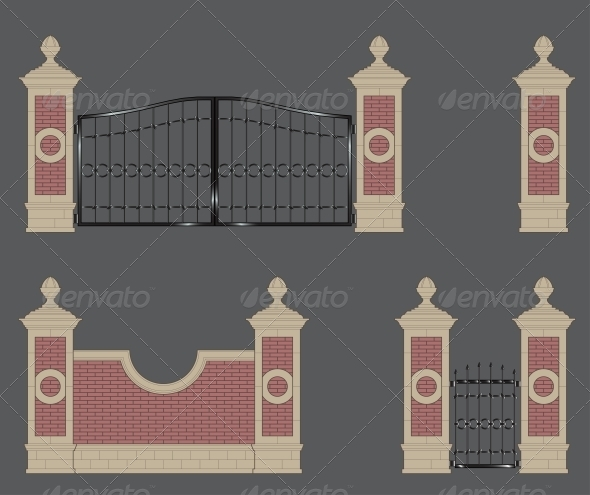 GraphicRiver Garden Gate 5988248
