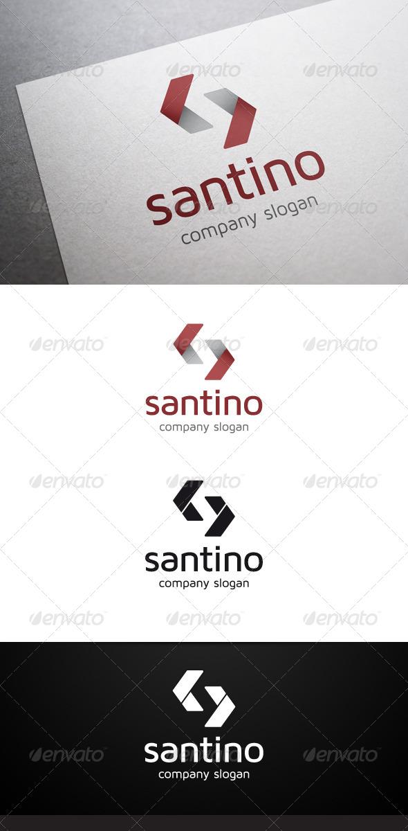 GraphicRiver Santino S Letter Logo 5988603
