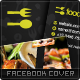 Food Love Facebook Timeline Cover - GraphicRiver Item for Sale