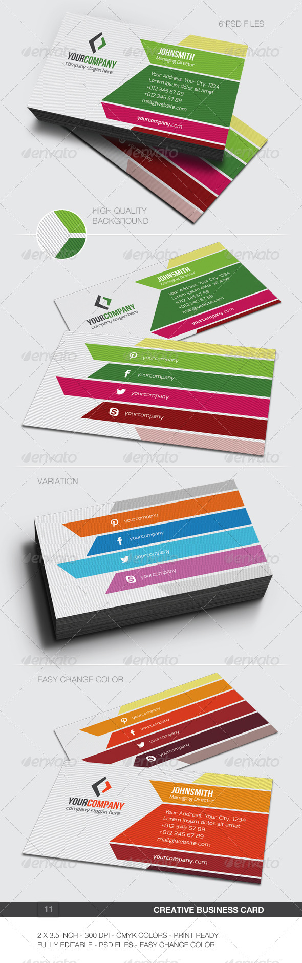 GraphicRiver Creative Business Card 11 5988956