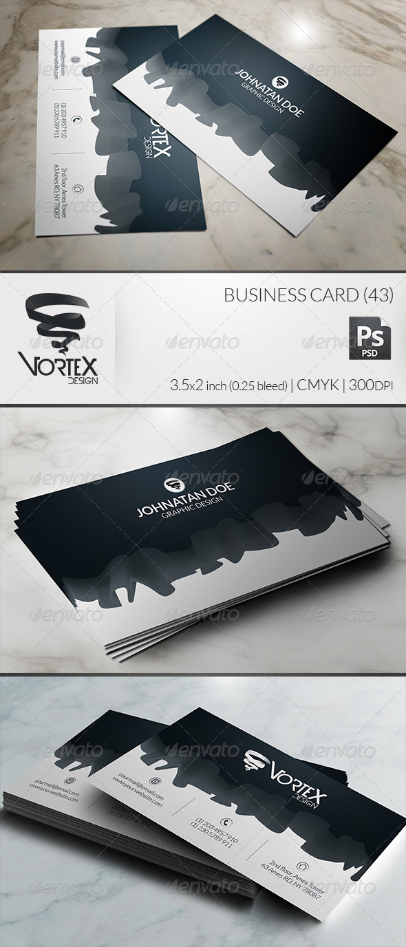 GraphicRiver Business Card 43 5989175