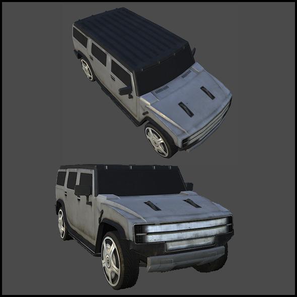 3DOcean Generic SUV 5989361