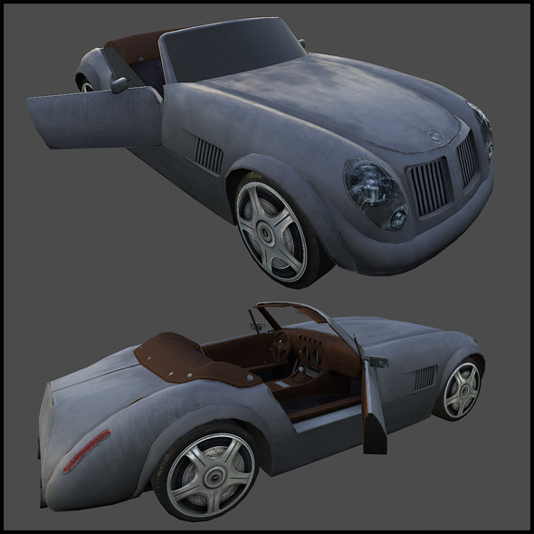 3DOcean Ford Roadster 5989395