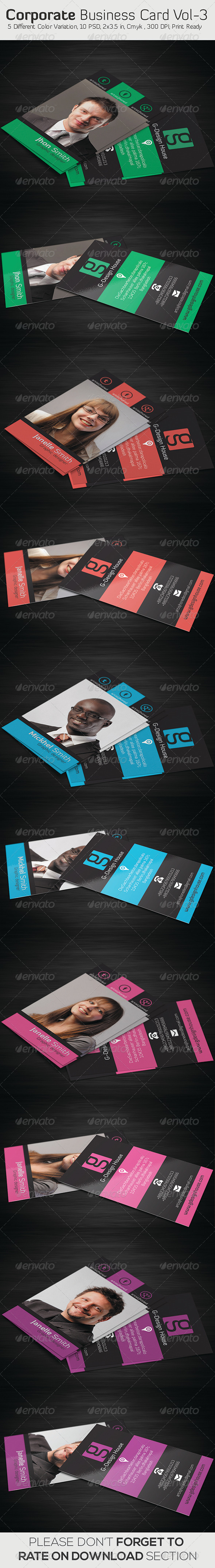 GraphicRiver Corporate Business Card Vol- 03 5990039