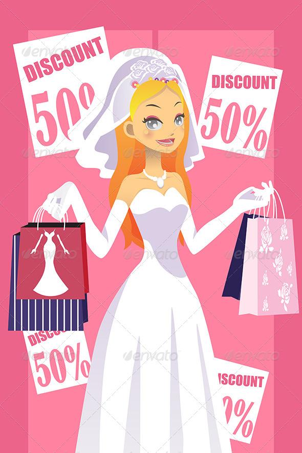 GraphicRiver Shopping Bride 5990203