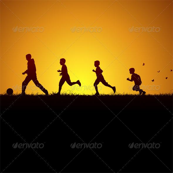 GraphicRiver Running Behind the Ball 5990222