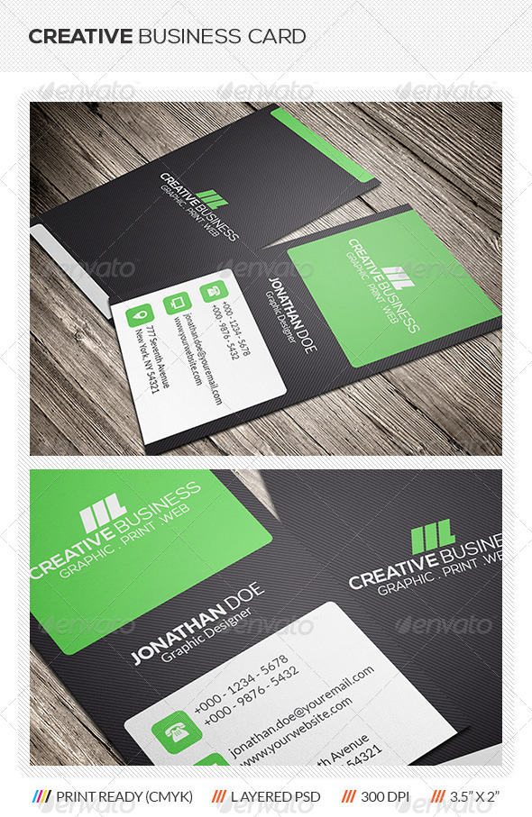 GraphicRiver Creative Corporate Business Card 5990517