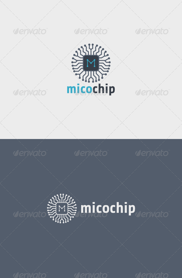 GraphicRiver Mico Chip Logo 5990577
