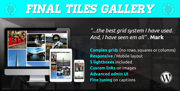 Final Tiles Grid Gallery for Wordpress - CodeCanyon Item for Sale