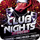 Club Nights Flyer - GraphicRiver Item for Sale