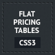 CSS3 Flat Pricing Tables - CodeCanyon Item for Sale