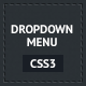 Responsive CSS3 Dropdown Menu - CodeCanyon Item for Sale