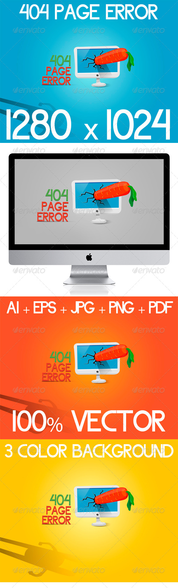 GraphicRiver 404 Page Error 5991646