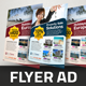 Creative Property Sale Travel Flyer Ad Template - GraphicRiver Item for Sale