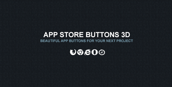 App Store Buttons 3D - CodeCanyon Item for Sale