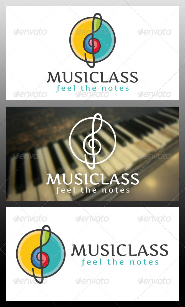 GraphicRiver Music Logo Template 5992492