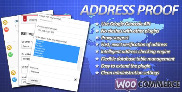 CodeCanyon WooCommerce Shipping Address Proof 5982157