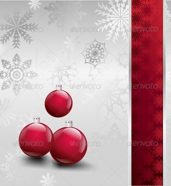 GraphicRiver Christmas Decorations Background 5993704