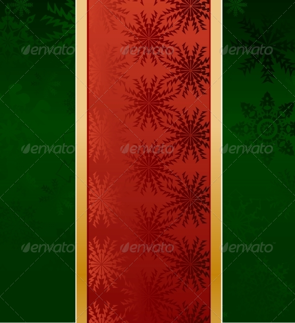 GraphicRiver Green Christmas Background 5993741