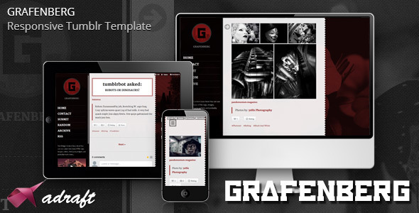 Grafenberg - Responsive Tumblr Template - Blog Tumblr