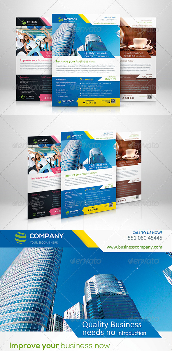Smart Corporate Flyer - Corporate Flyers