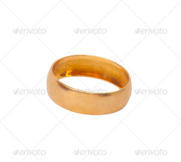 gold ring - Stock Photo - Images