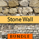 Old Stone Wall Texture Backgrounds Bundle - GraphicRiver Item for Sale