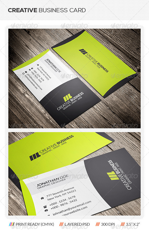 GraphicRiver Creative Corporate Business Card 5997933
