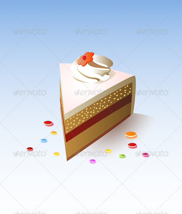 GraphicRiver Cake 5990184