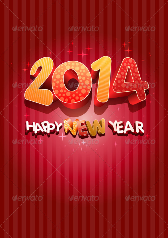 GraphicRiver Happy New Year 2014 5999642