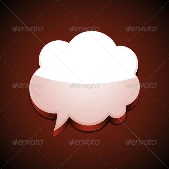 GraphicRiver Cloud Speech Bubble 5999710