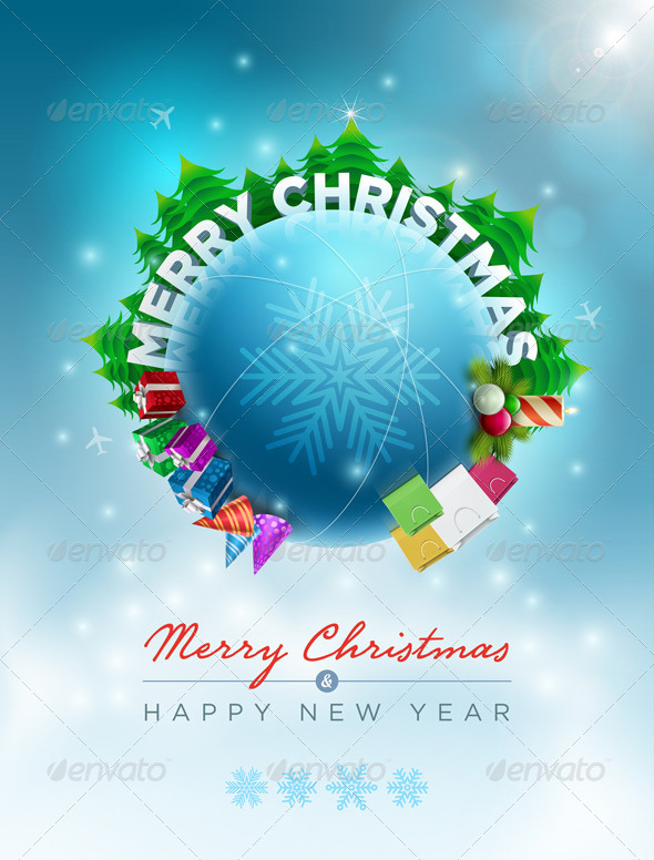 GraphicRiver Christmas World 5999720