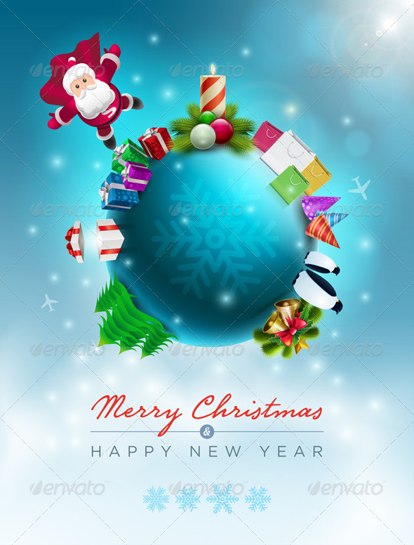 GraphicRiver Santa Claus Christmas World 5999776