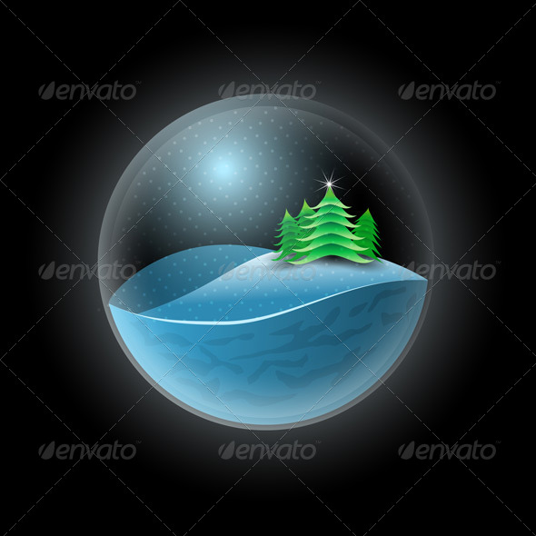 GraphicRiver Christmas Sphere 5999914