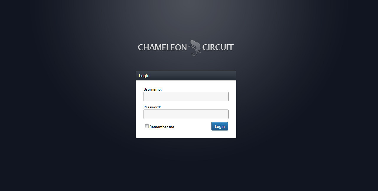 Chameleon Circuit - Full Featured Admin Theme