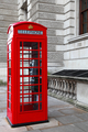 Classic red British telephone box in London - PhotoDune Item for Sale